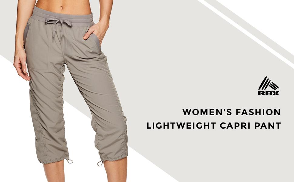 Women's Fashion Lightweight Capri Pant