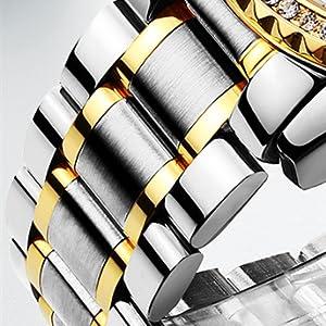 Calendar Brand Fine Wrist Watch Stainless Steel Classic Analog Quartz Watch Reloj de hombre de