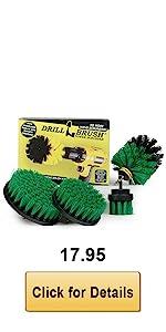 Green Drill Brush