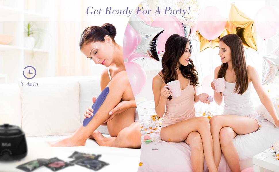 wax warmer waxing kit hair removal waxing kit painless waxing bikini waxing