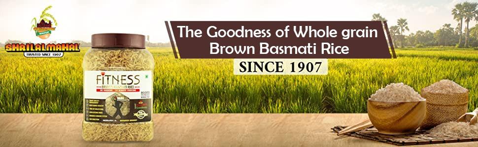 brown basmati rice 4kg