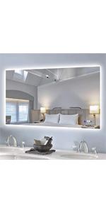 40x24  inch backlit mirror