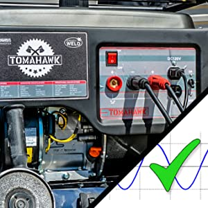 welder generator engine driven sine inverter mma stick duty cycle pmg miller lincoln steady welding