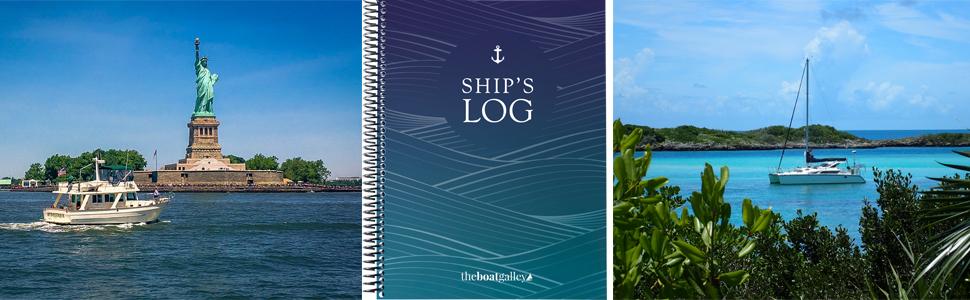 logbook ships log cruising sailboat trawler boat