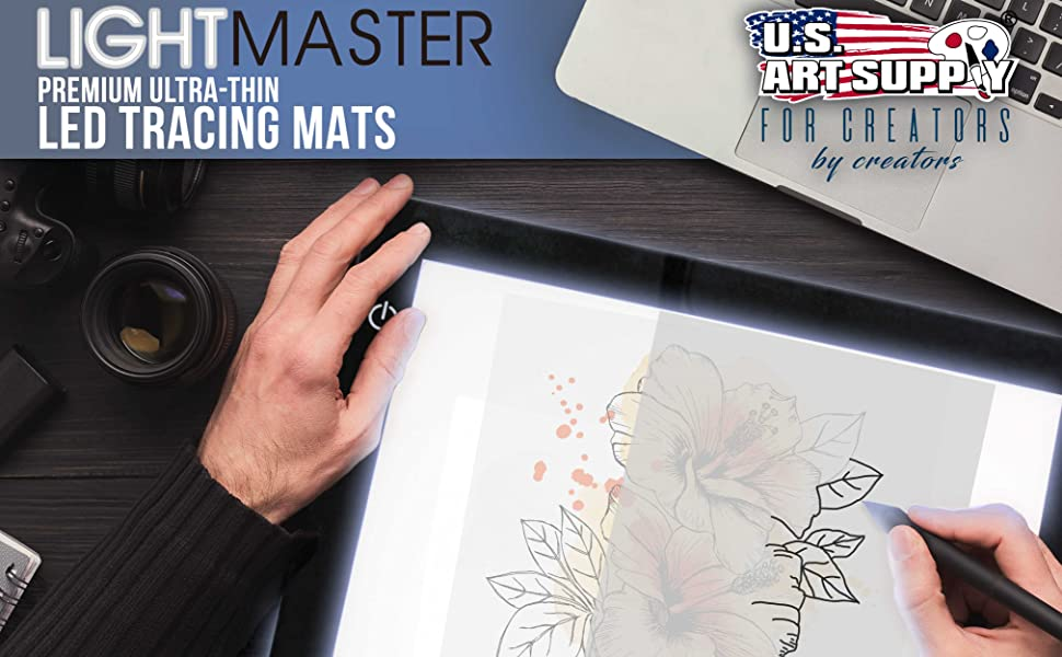 Light Master Premium Ultra-Thin LED Tracing Mats