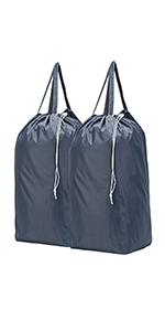 e73864748afd Amazon.com: HOMEST 2 Pack Nylon Laundry Bag, 28 x 40 Inches Travel ...