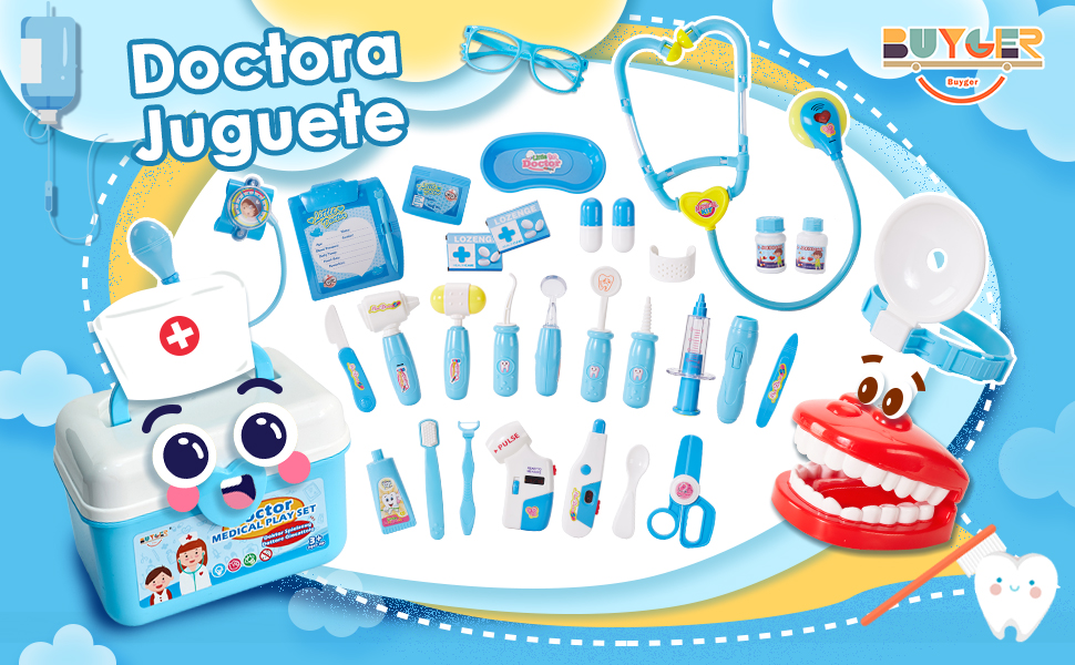 Maletin Medicos Doctora Juguete