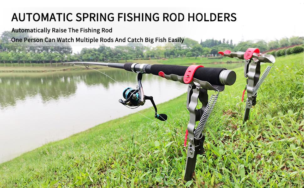 Automatic Fishing Rod Holders