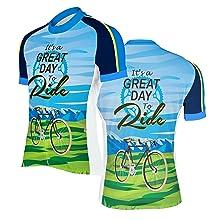 men's short sleeve cycling jersey
