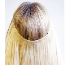 halo hair application flip in hair