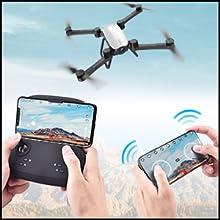 Flashandfocus.com bc72f816-cc2a-481a-9c97-cd33d0cbdffe.__CR0,0,300,300_PT0_SX220_V1___ SIMREX X900 Drone Optical Flow Positioning RC Quadcopter with 1080P HD Camera, Altitude Hold Headless Mode, Foldable FPV…