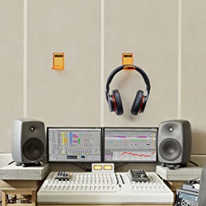 monitor headphone hanger