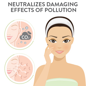 anti-pollution, clear skin, pore cleaning