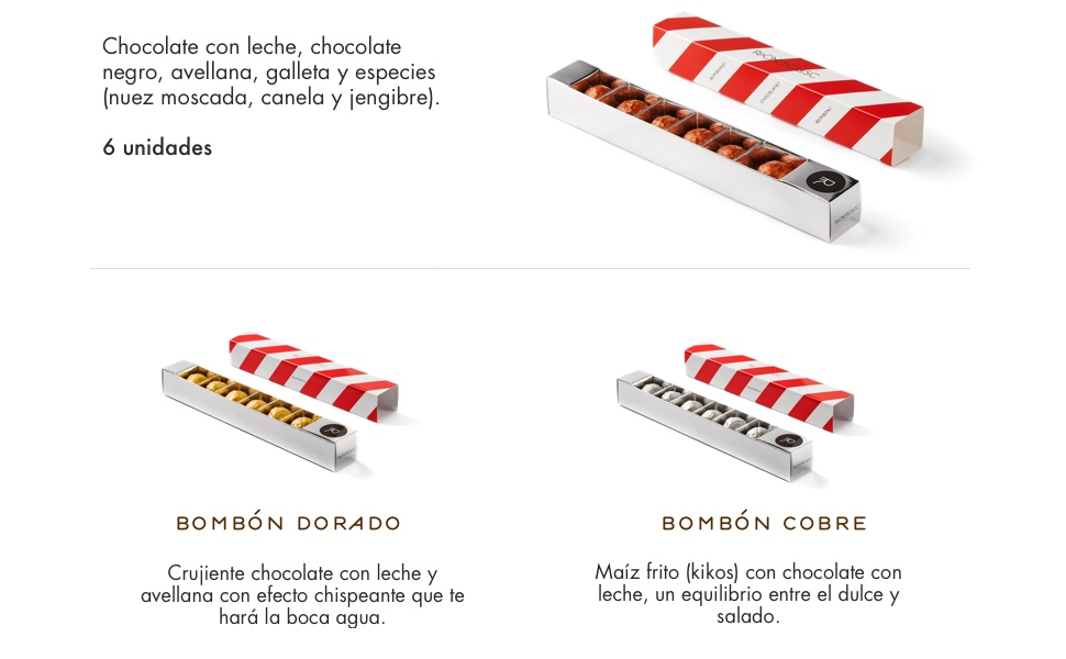 Rocambolesc - Bombón Cobre de Chocolate con Leche, Avellanas y ...