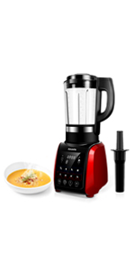 Amaste Cold and Hot Professional Countertop Blender