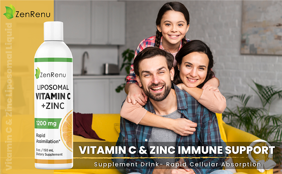 Vitamin C & Zinc Immune Support