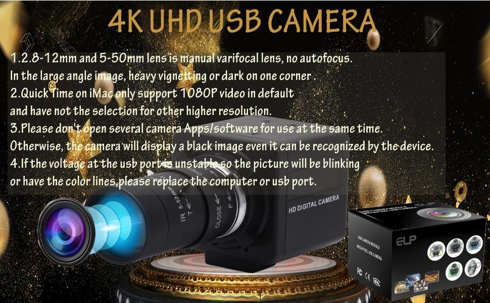 4k mini usb with camera