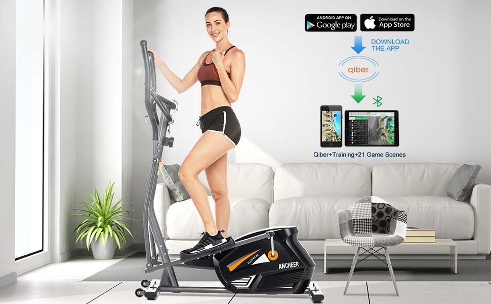 elliptical with APP