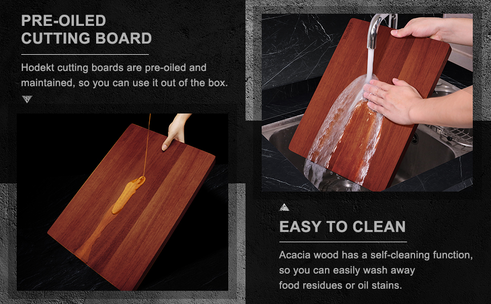 wood cutting board for kitchen dishwahser safe wooden oiled