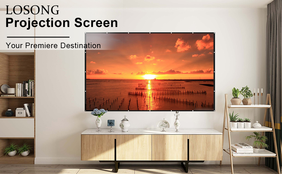 Losong Projection screen