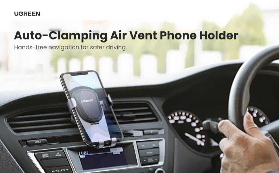 UGREEN Car Air Vent Mount Phone Holder