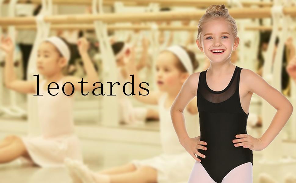 girls leotard ballet