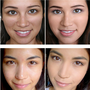 flawless medium coverage face makeup