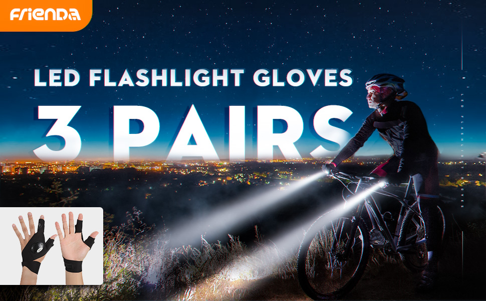 Flashlight gloves
