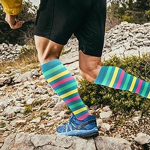 green compression socks