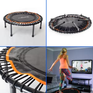 fit bounce pro exercise trampoline