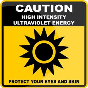 high intensity  ultraviolet light sanitizer wand, portable uv wand, uv Disinfection lamp