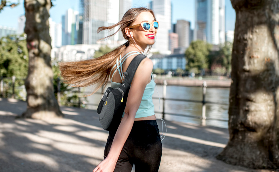 sling backpack for walking