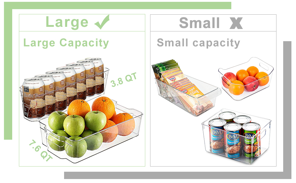 fridge stackable organizer