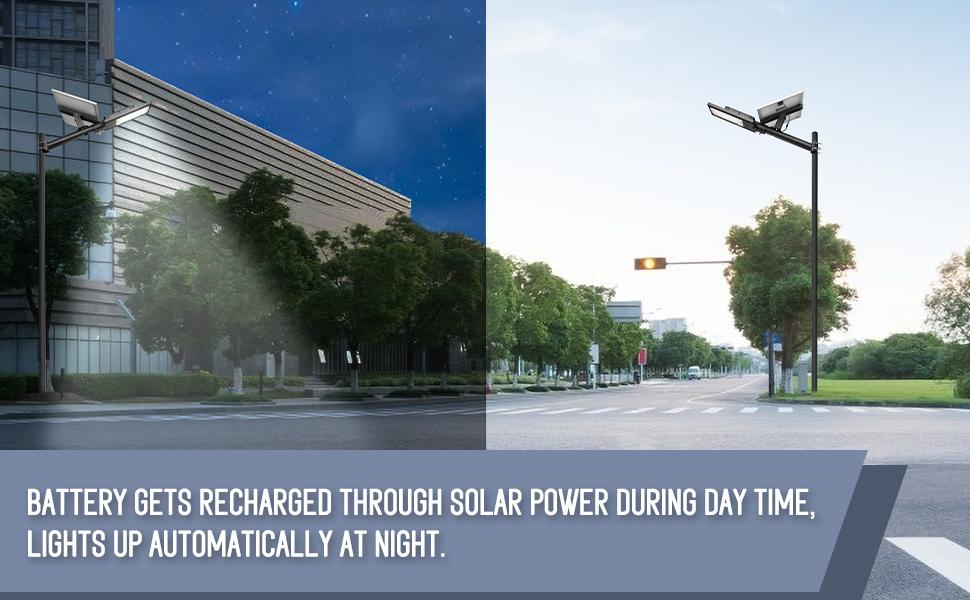 solar street light waterproof