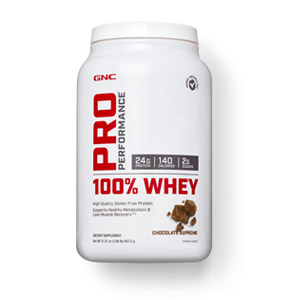 Details of GNC Pro Performance 100% Whey container