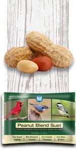peanut blend bird suet