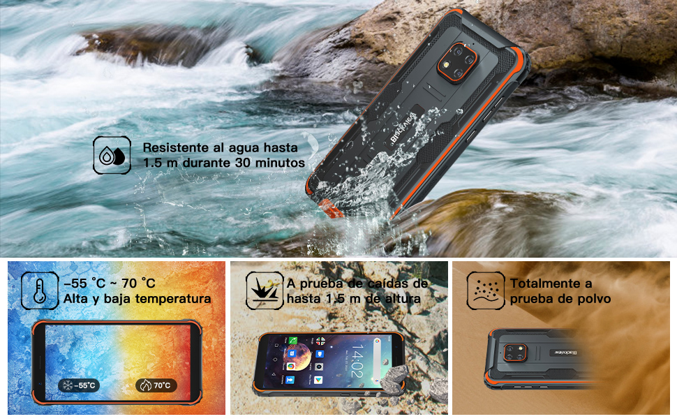 Impermeable Smartphone