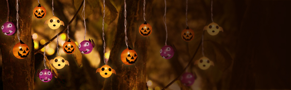 halloween decoration lights string lights battery powered halloween string lights outdoor