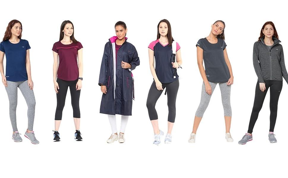 Berge ladies sports wear apparels