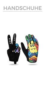 Bunte Handschuhe für BMX MTB Roller und Rad