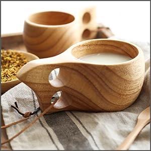 カップ 木製カップ 木製マグカップ マグ 木製マグ アウトドア ククサ アウトドア用品 アウトドア食器 キャンプ用品 キャンプ食器