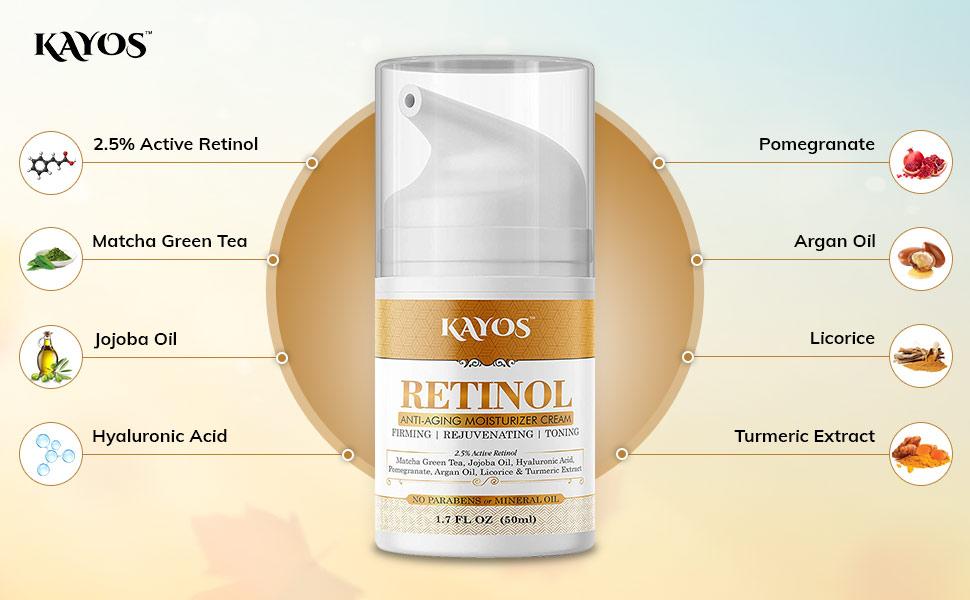 Kayos Cream Ingredients