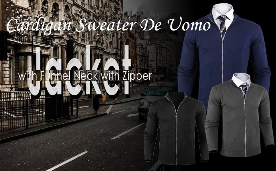 Cardigan Sweater de Uomo