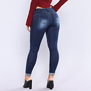 high rise butt lift jean women stretch light lift jean black jean women jean women ripped denim jean