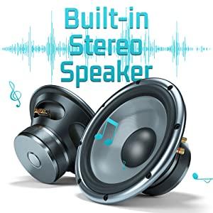 Built-in Dual Stereo Speaker