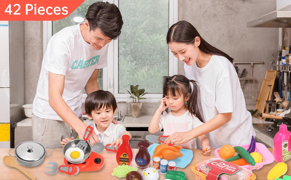 play food sets for kids kitchen food toys for kids