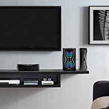 Room filling power with 125 watt speaker system