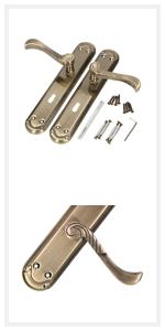Kotarbau Deurklink voor ramen, deurvergrendeling, scharnieren, banden, ventilatierooster, paaldrager, verbindingen
