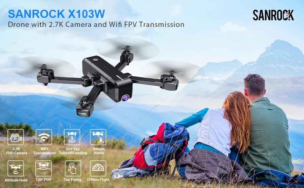 Sanrock X103W Drones