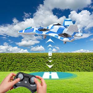 Mayceyee F22 Drone for Kids and Beginner_Blue_3-2